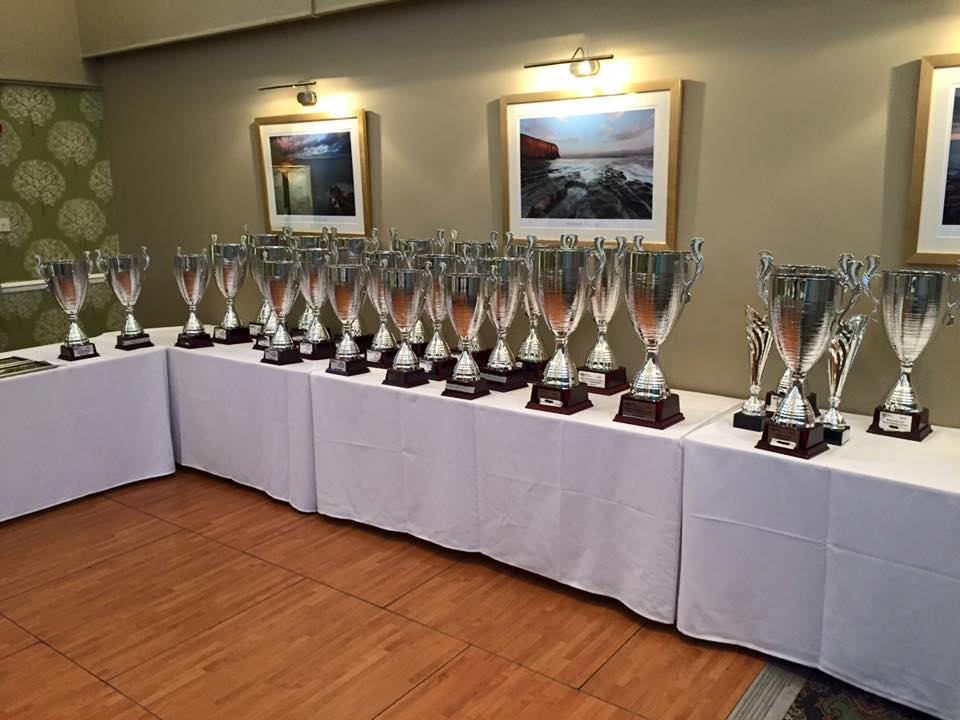 How big is your trophy cabinet?