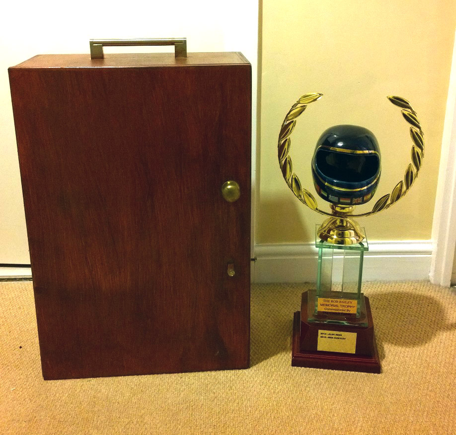 A trophy that comes with it's own cupboard!